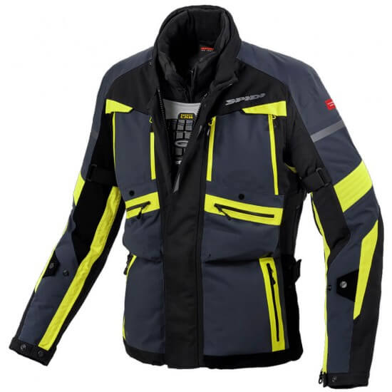 Jacke SPIDI Globetracker H2Out Yellow Fluo
