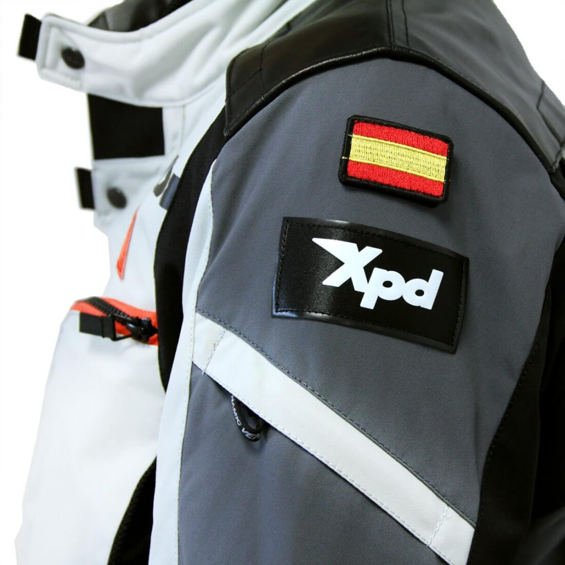 34ab87ff6bd SPIDI H.T. Raid Pro H2Out Black   Grey Jacket · Motocard