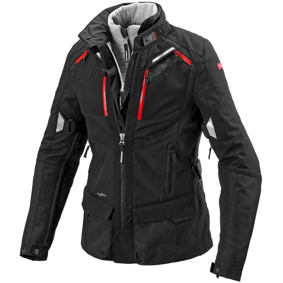 76eea49f1f7 Chaqueta SPIDI 4Season H2Out Lady Black · Motocard