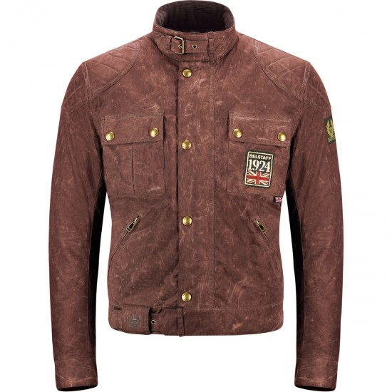 Casaco BELSTAFF Jubilee Brooklands Cotton Limited Edition Russet