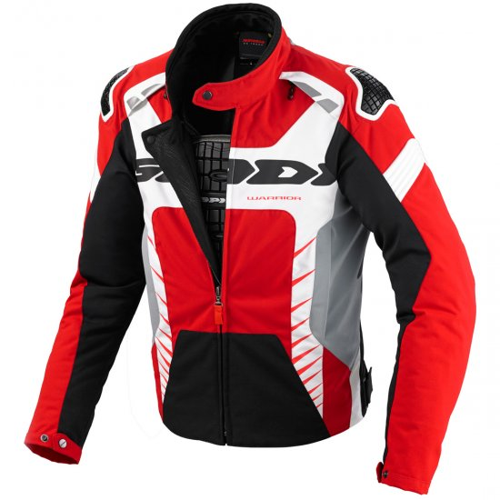 Chaqueta SPIDI Warrior Tex Red / White / Black