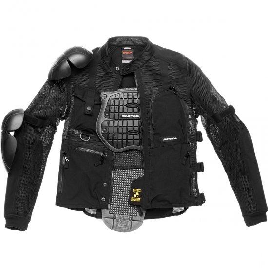 Chaqueta SPIDI Multitech Armor Evo Black