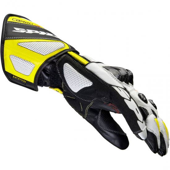 Guantes SPIDI Carbo 3 Black / Yellow Fluo