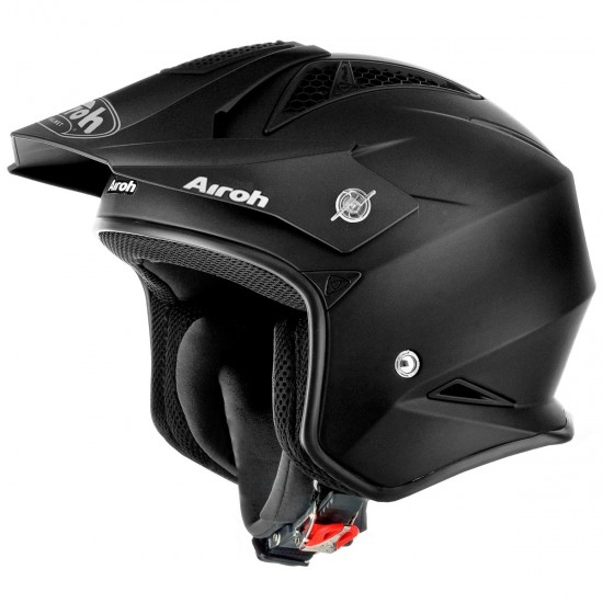 Casco AIROH TRR S Color Black Matt