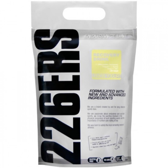 226ERS Recovery Drink 1000g. Lemon Yogurt Nutrition