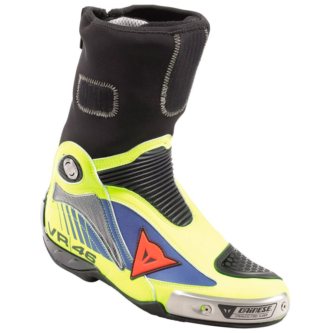 Fluo R Rossi In Dainese Bottes Axial Blue Yamaha Pro Replica Yellow D1 354LqRjA