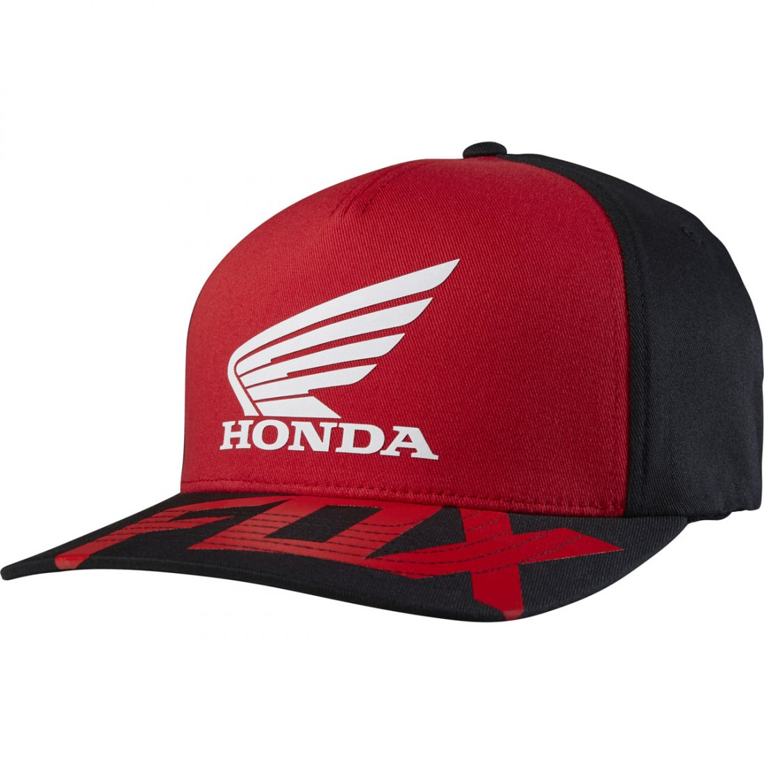 a99704e94a040 Gorra FOX Honda Basic Flexfit Red   Black · Motocard