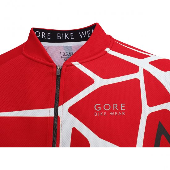 GORE E Adrenaline 4.0 Red Jersey