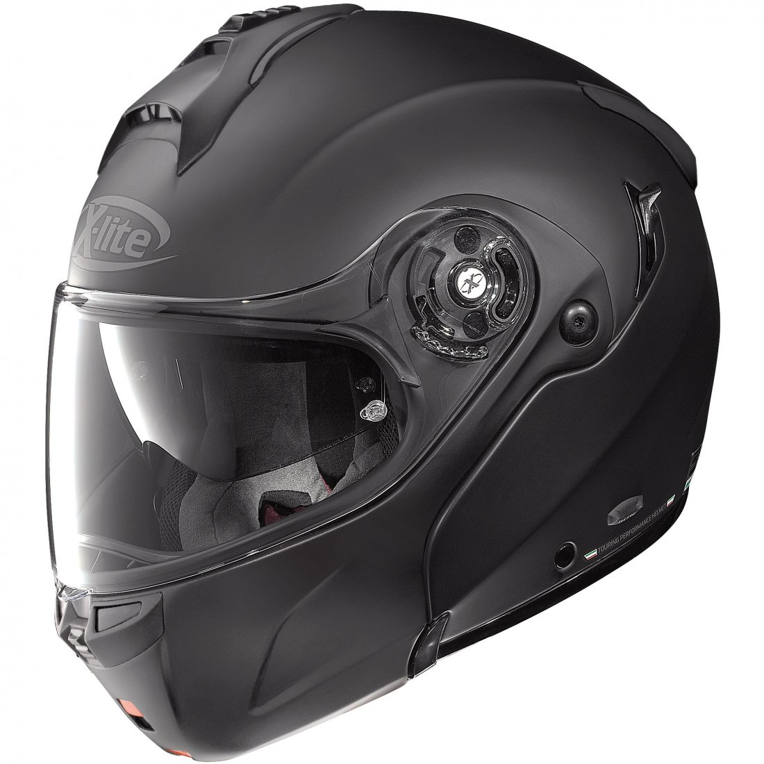 x lite x 1004 elegance n com flat black helmet motocard. Black Bedroom Furniture Sets. Home Design Ideas