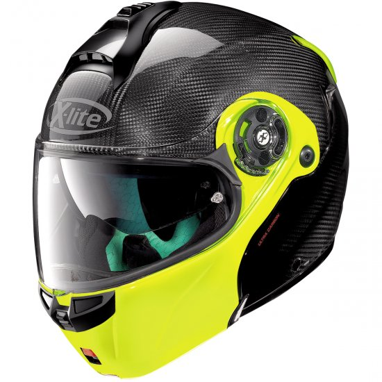 Helm X-LITE X-1004 Ultra Carbon Dyad N-Com Carbon / Fluo Yellow