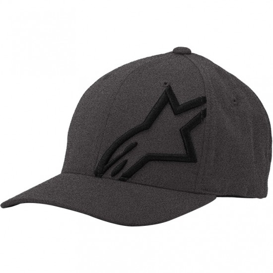 Casquette ALPINESTARS Corp Shift 2 Flexfit Dark Heather Gray / Black
