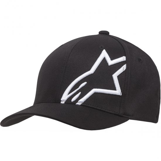 Casquette ALPINESTARS Corp Shift 2 Flexfit Black / White