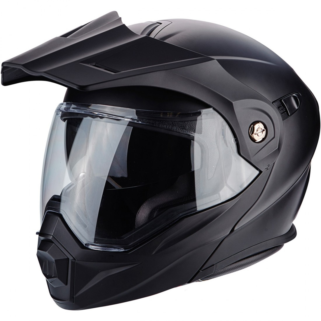 ae712460 Casco SCORPION ADX-1 Matt Black · Motocard