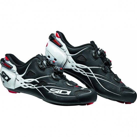 SIDI Shot Matt Black / White Shoe