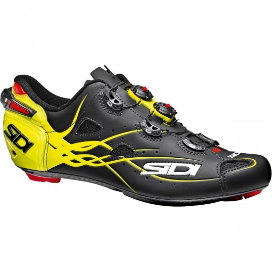 Zapatillas SIDI Shot Matt Black / Yellow Fluo