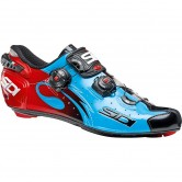 SIDI Wire Carbon Blue Sky / Black / Red