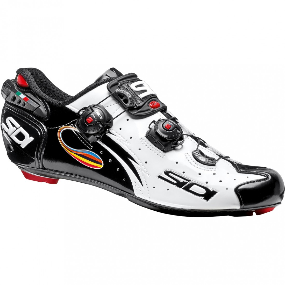 SIDI Wire Carbon White / Black Shoe · Motocard