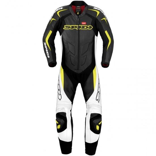 Tuta SPIDI Supersport Wind Pro Professional Black / Yellow Fluo