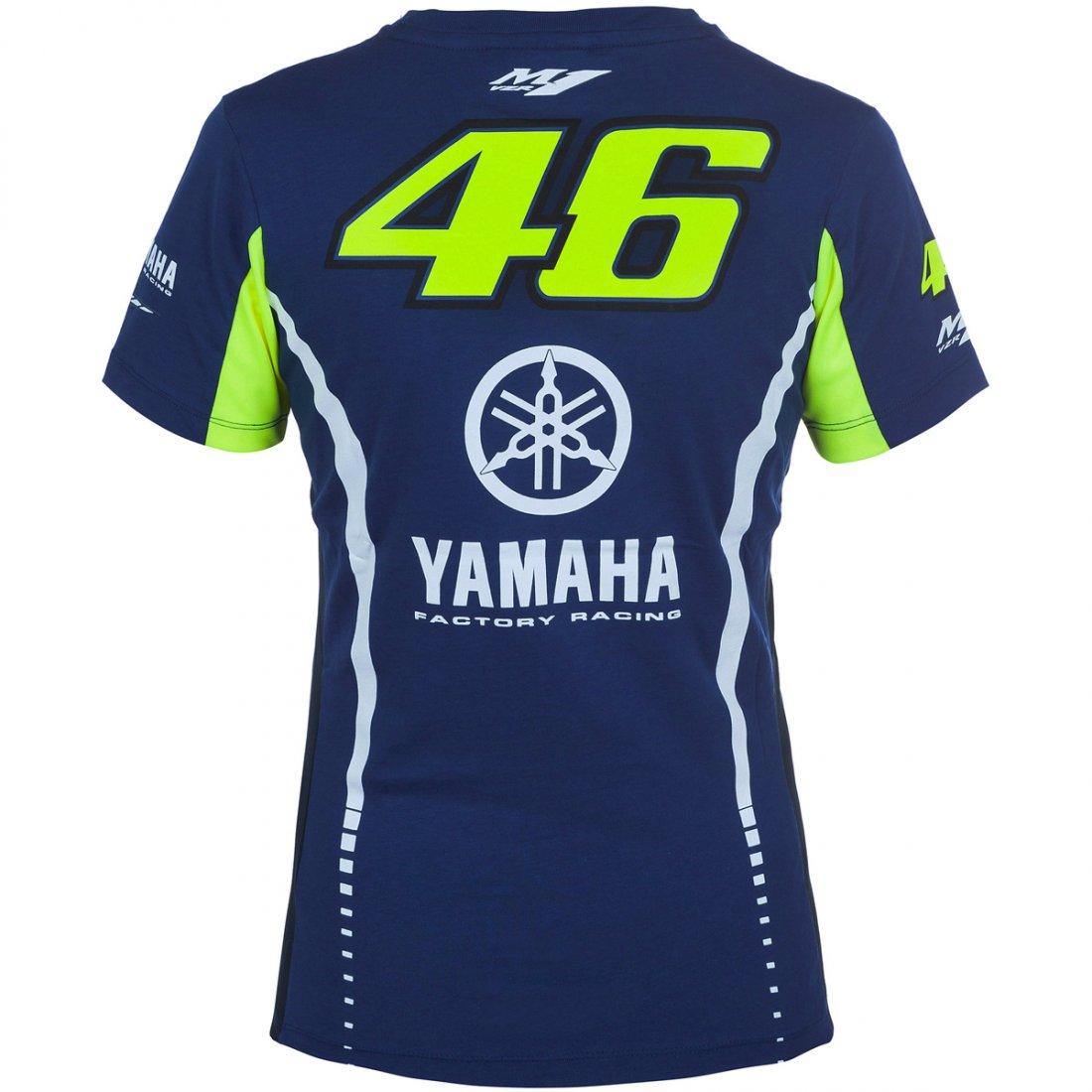 Camiseta VR46 Yamaha Rossi VR 46 272309 Lady · Motocard 1bcbb2b9ffd35