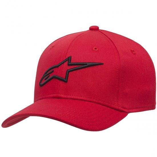 Mütze ALPINESTARS Ageless Curve Red