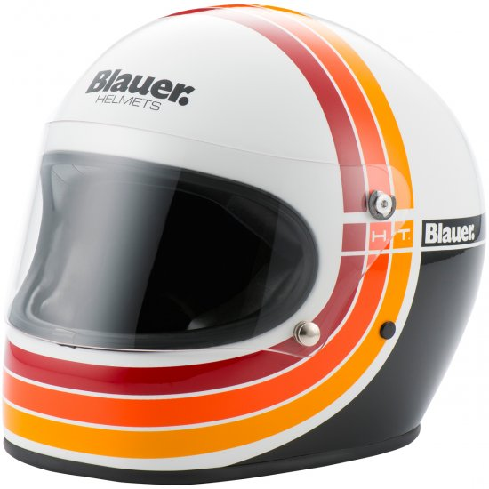 Casco BLAUER 80's White