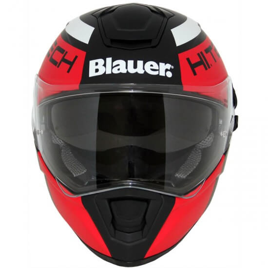 Casco BLAUER Force One 800 Matt Black / Red / White