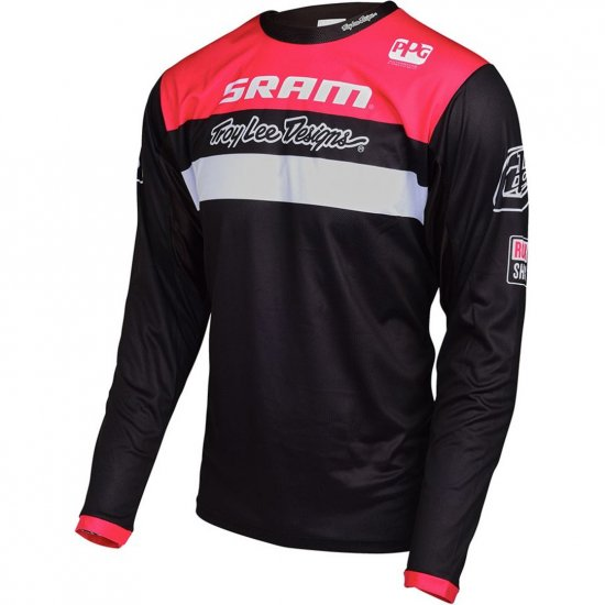 TROY LEE DESIGNS Sprint Junior Sram TLD Racing Black Jersey