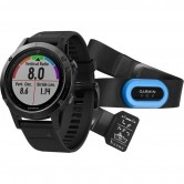 GARMIN Fēnix 5 HRM Black Sapphire with Black Band