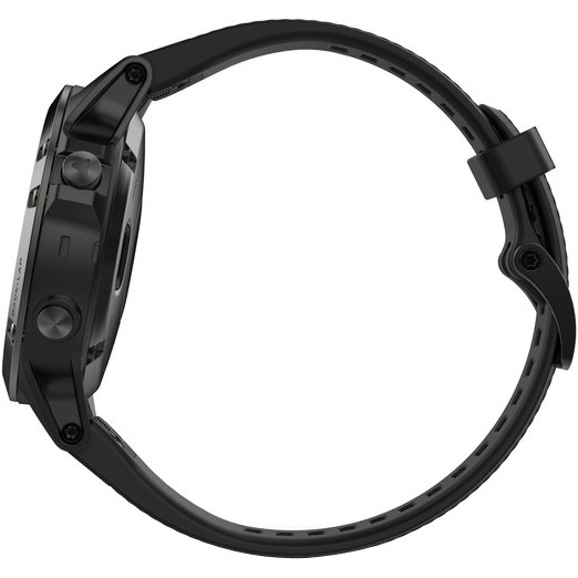 GARMIN Fēnix 5 HRM Black Sapphire with Black Band Odometer