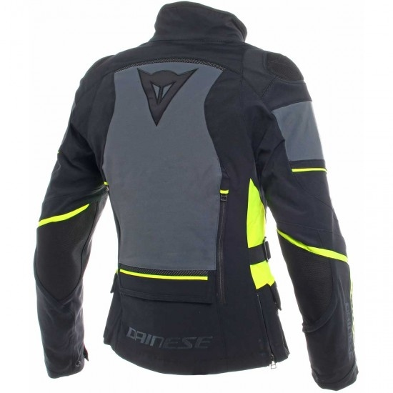 Chaqueta DAINESE Carve Master 2 Gore-Tex Lady Black / Ebony / Fluo-Yellow