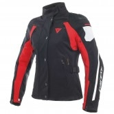 DAINESE Rain Master D-Dry Lady Black / Glacier Gray / Red