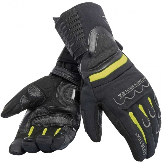 Guantes DAINESE Scout 2 Gore-Tex Black / Fluo-Yellow