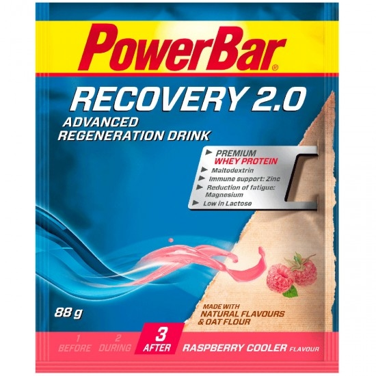POWERBAR Recovery 2.0 Raspberry Cooler Nutrition