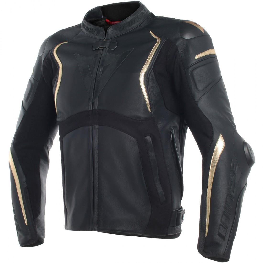 DAINESE Mugello Anniversario Black / Gold Limited Edition Jacket