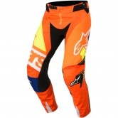 ALPINESTARS Techstar 2018 Factory Orange Fluo / Blue / White / Yellow Fluo