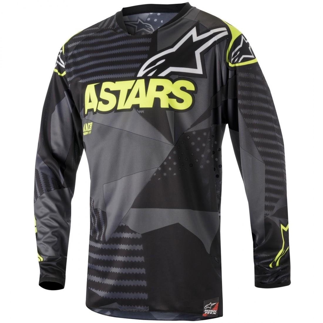 ALPINESTARS Racer 2018 Tactical Black / Yellow Fluo Jersey