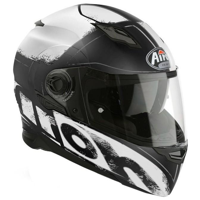 29c99624 AIROH Movement S Cut White Matt Helmet · Motocard