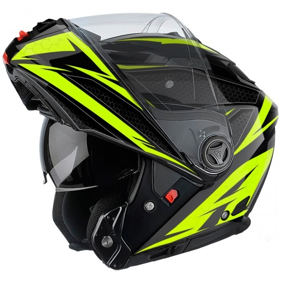 Casco AIROH Phantom S Evolve Yellow Gloss