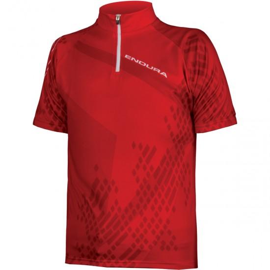 Maglia ENDURA Ray S/S Junior Red