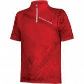 ENDURA Ray S/S Junior Red