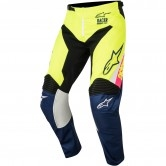 ALPINESTARS Racer 2018 Junior Supermatic White / Dark Blue / Yellow Fluo