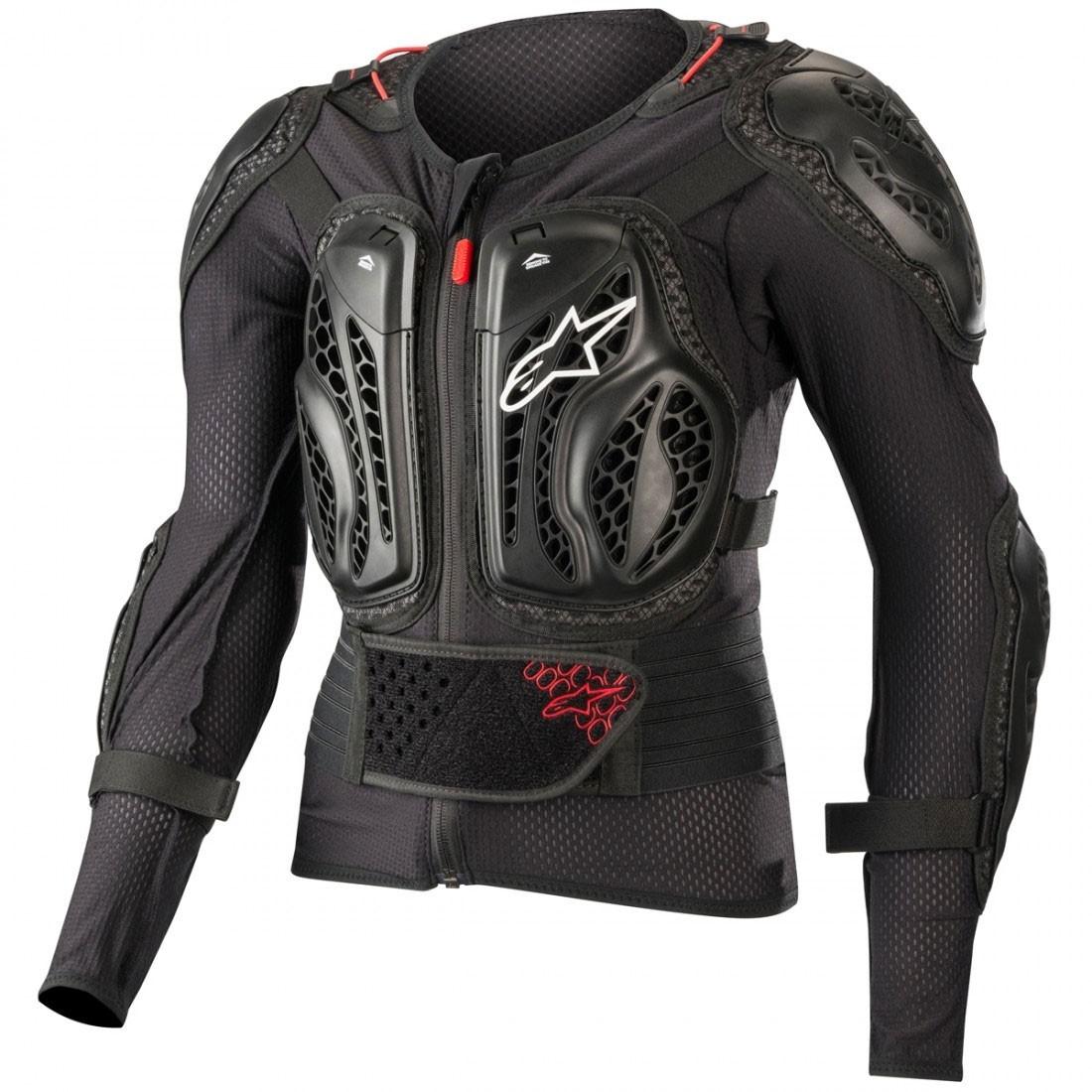 6788701dca7 Proteccion ALPINESTARS Bionic Action Black / Red · Motocard