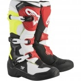 ALPINESTARS Tech 3 Black / White / Yellow Fluo / Red