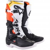Tech 3 Black / White / Red / Fluo Yellow