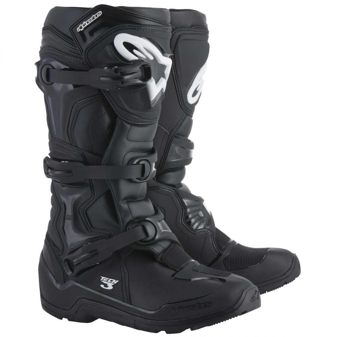 Boots Enduro 3 Black ALPINESTARS Tech yYf7b6g