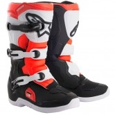 ALPINESTARS Tech 3S Junior Black / White / Red Fluo