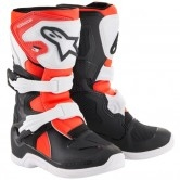 ALPINESTARS Tech 3S Kids Black / White / Red Fluo