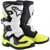 ALPINESTARS Tech 3S Kids Black / White / Yellow Fluo