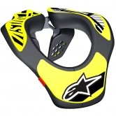 ALPINESTARS Neck Support Junior Black / Yellow Fluo