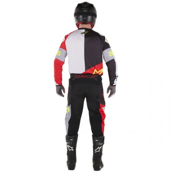 Maglietta ALPINESTARS Racer 2018 Flagship Red / White / Black